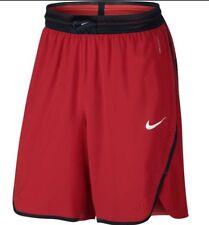 Nike Aeroswift Shorts Baloncesto Universidad Rojo Negro Talla S (776115-657)