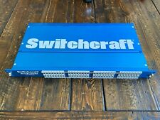 Switchcraft Patchbay - StudioPatch 6425