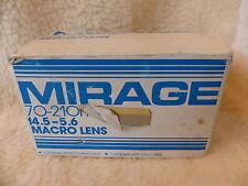 En Caja Olympus OM Fit Mirage 70-210mm Lente de Zoom-Excelente f4.5 - 5.6