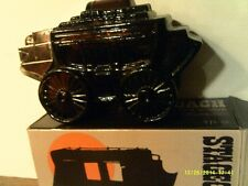 Vintage 1970 Avon Stagecoach Decanter -Empty In Original Box-Free Shipping