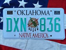 OKLAHOMA license licence plate plates USA NUMBER AMERICAN REGISTRATION