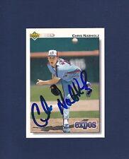 Chris Nabholz signed Montreal Expos 1992 Upper Deck baseball card