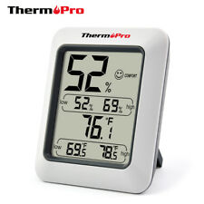 LCD Thermometer Hygrometer Indoor Temperature Humidity Meter Weather Station
