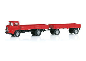 Märklin 18035 Krupp-Lastwagen mit Anhänger - Replikat mit Zertifikat#NEU in OVP#