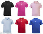 Baby Toddler Kids Boys Girls 100% Cotton Polo Top T-Shirt Soft Newborn - 3 Years
