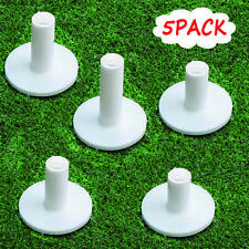 New listing Golf Rubber Tees Driving Range Value 5 Pack, Same Size 2.75'' for Practice Mat