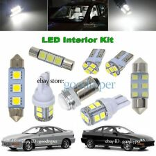 7x White LED Map Dome Light interior bulb package kit fit 94-2001 Acura Integra