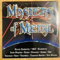 Masters Of Metal - New Vinyl LP Kiss, Iron Maiden, Dio, Etc... 1984 KTEL NU 4370