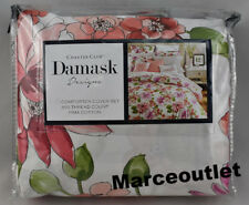 Charter Club Damask Designs Bouquet FULL /QUEEN Duvet Cover & Shams Floral Multi