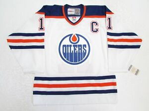MARK MESSIER EDMONTON OILERS VINTAGE CCM HOCKEY JERSEY SIZE SMALL