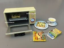 Re-ment dollhouse miniature toaster oven pizza toast 2005