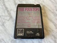 The Four Tops Greatest Hits 8-Track Tape Motown MOT M8662 Shake Me, Wake Me RARE