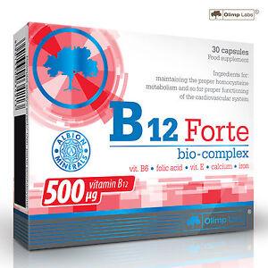 B12 FORTE 30-270 Capsules Vitamin High Potency Natural Energy Fatigue Metabolism