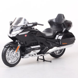 1/12 Scale Welly Honda Gold Wing Touring Motorcycle Toy Model Sport Cruiser Bike