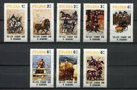 35961) Poland 1980 MNH Sierakow Horse SPORTS 8v