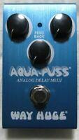 Used Dunlop Way Huge Smalls WM71 Mini Aqua-Puss Analog Delay