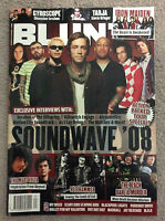 BLUNT Music Magazine Issue#67 Hellhammer/Nightwish & Parkway Drive Posters Rare