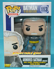 Batman: The Dark Knight Returns - Armored Batman Unmasked Pop! Vinyl Figure