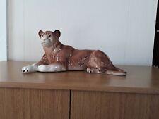 vintage melba ware lioness lion
