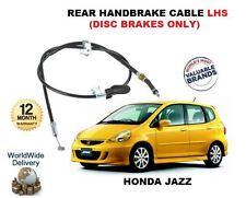 PARA Honda Jazz 1.2 1.4 2004- > NUEVO trasero Izquierdo Mano Cable de freno