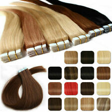 40Pcs/20Pcs 12-24inch Remy Hidden Hair Extensions Tape In Weft 100% Human Skin