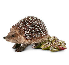 Schleich 14713 Hedgehog Wild Forest Animal Model Toy Figurine - NIP