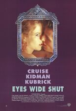 Eyes Wide Shut Movie Poster ~ Style A Portrait 27x39 Stanley Kubrick Tom Cruise