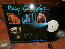"rory gallagher""stage struck(live)""""lp12""or.fr.chr1280-édition promo ultra rare"