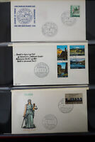 Iceland Stamps Lot of 150 FDC in Album