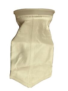 """25 Micron Polyester Filter Sock Bag 7""""x32"""" 10 L For Waste Vegetable Oil WVO"""