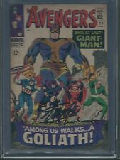 Avengers #28 CGC SS 6.5 signed by Stan Lee C-OW pages 1st app The Collector