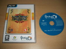 Sid Meiers Meier's PIRATES - Live The Life  Pc Cd Rom SO  - FAST DISPATCH