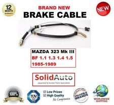 FOR MAZDA 323 Mk III BF 1.1 1.3 1.4 1.5 1985-1989 HAND BRAKE CABLE B09244420