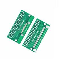5pcs FFC/FPC 40 Pin 1mm 0.5mm to DIP Adapter PCB Board Converter Double Side