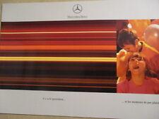 CATALOGUE AUTO : MERCEDES : GAMME FIN DES ANNEES 1990