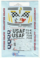 1/48 SuperScale Decals F-86F Sabre S80th FBS Bob Buggy 39th FIS Mike Bird 48-198