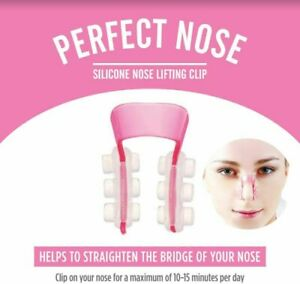 Nose Shaper Tool Silicon Nose Corrector Lifter For Slimmer Thinner Nose Shape