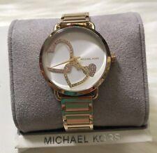 Brand New Michael Kors Gold tone Portia Women's Watch MK3824