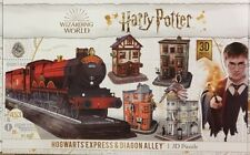 Harry Potter 4d Cityscape 3d Hogwarts Great Hall & Tower Puzzle