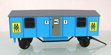 HO s.e.s 14 1017 88 : Toilettenwagen Leipziger Messe. Typisch DDR