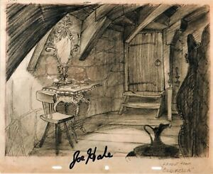 JOE HALE Cinderella Original Autograph Signed Photo Cinema Walt Disney