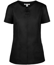 {XS} Koi Medical Uniform Scrub Top BLACK 356-020