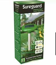 SUREGUARD™ Solar Power Snake Repeller Pulse Vibration Repellent Pest Deter LED