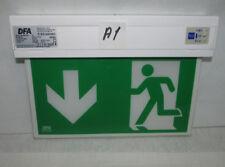 LED Notleuchte Notausgang Fluchtwegleuchte Notlicht Leuchtmittel (A1)
