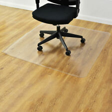 Rectangular PVC Home Office Chair Mat Carpet Computer Desk Hard Floor Protector
