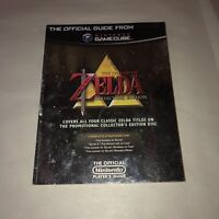 NICE Gamecube Official Guide Nintendo Power Legend of Zelda Collector's Edition