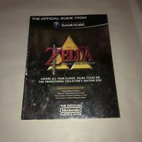 NICE Gamecube Official Guide Nintendo Power Legend of Zelda Collector's Edition