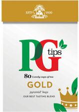 PG Tips Oro Pirámide Bolsitas De Té 2 X 80s