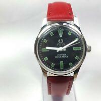 Vintage Titus 17J Mechanical Hand Winding Movement Analog Dial Wrist Watch D230