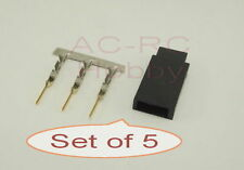 Futaba JR Servo Gold Plated plug Female  Set of 5